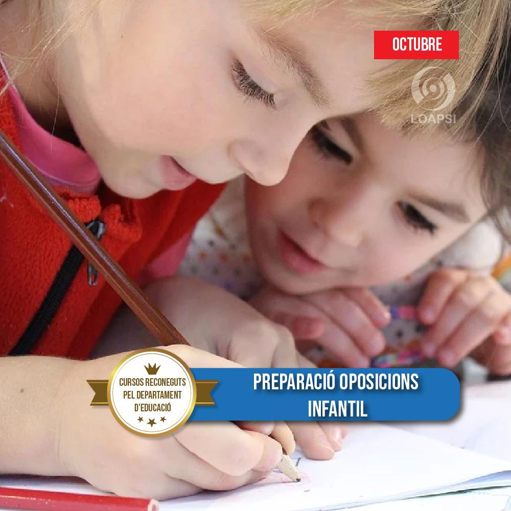 Preparació oposicions Infantil nivell Actualització i aprofundiment