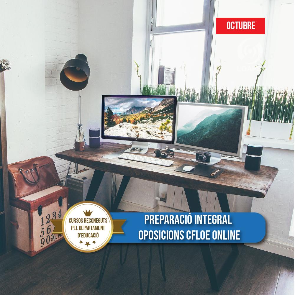 Preparació integral oposicions CFLOE online