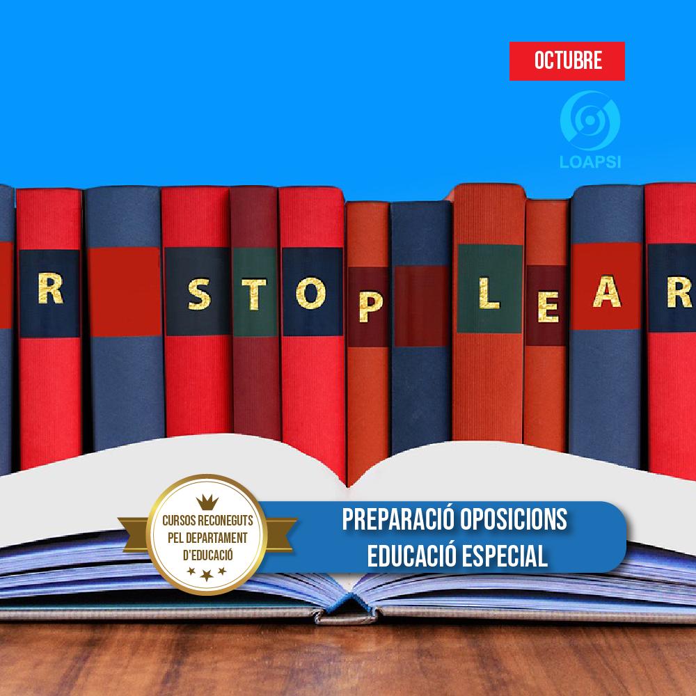 Preparació supòsits pràctics educació especial