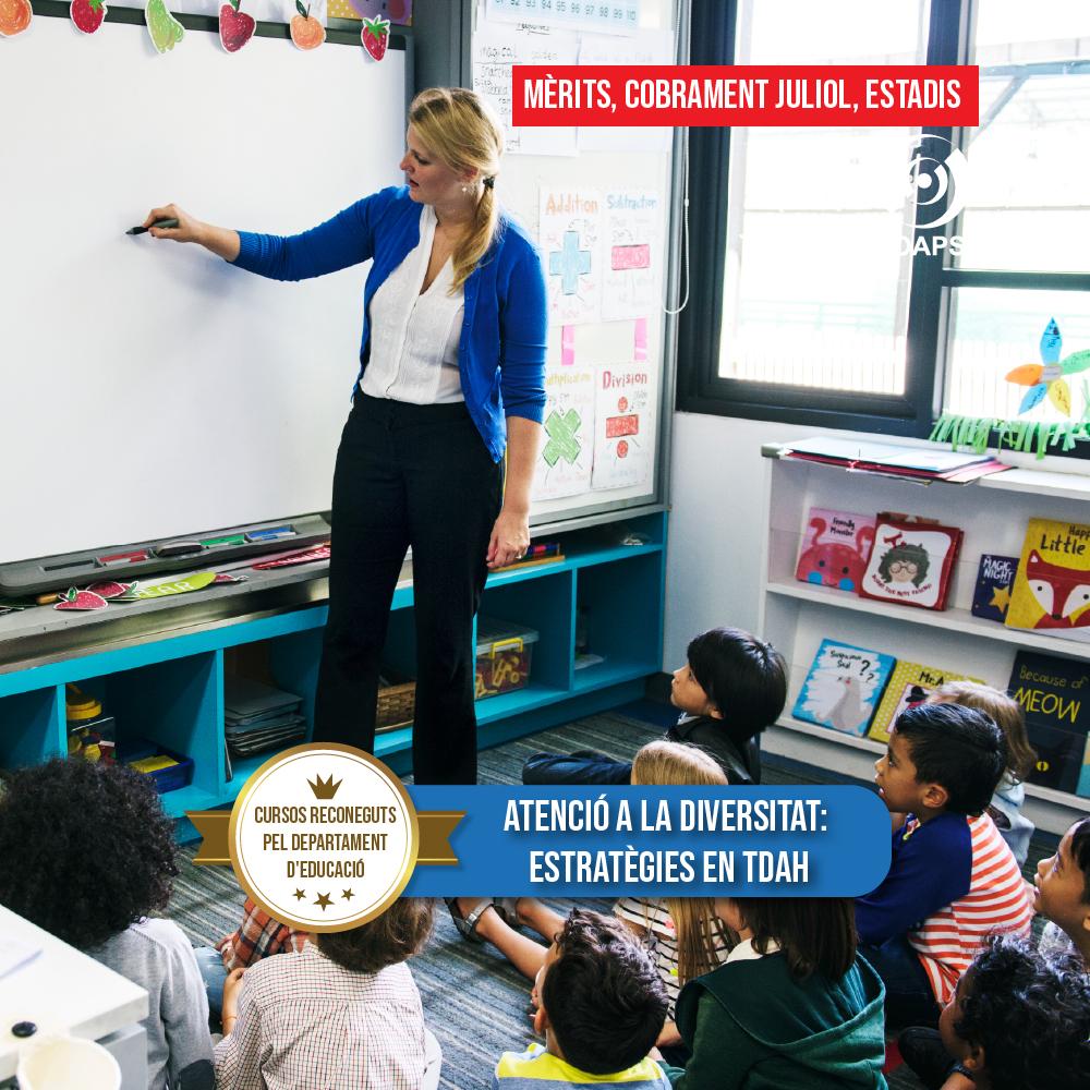 Estratègies pel docentes amb alumnes amb TDAH